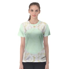 Seamless Abstract Background Pattern Women s Sport Mesh Tee