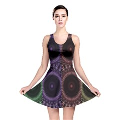 Digital Colored Ornament Computer Graphic Reversible Skater Dress