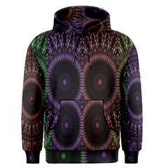 Digital Colored Ornament Computer Graphic Men s Pullover Hoodie