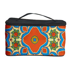 Digital Computer Graphic Geometric Kaleidoscope Cosmetic Storage Case