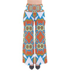 Digital Computer Graphic Geometric Kaleidoscope Pants