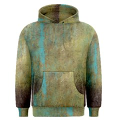 Aqua Textured Abstract Men s Pullover Hoodie