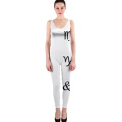 Set Of Black Web Dings On White Background Abstract Symbols OnePiece Catsuit