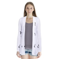 Set Of Black Web Dings On White Background Abstract Symbols Cardigans