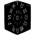Astrology Chart With Signs And Symbols From The Zodiac Gold Colors iPad Air Flip View3