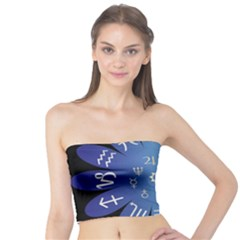 Astrology Birth Signs Chart Tube Top