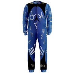 Astrology Birth Signs Chart Onepiece Jumpsuit (men)