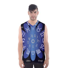 Astrology Birth Signs Chart Men s Basketball Tank Top