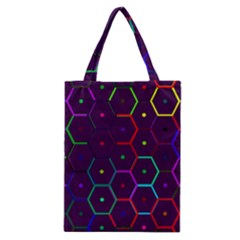 Color Bee Hive Pattern Classic Tote Bag