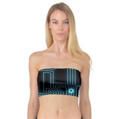 A Completely Seamless Background Design Circuitry Bandeau Top