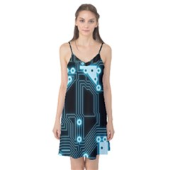 A Completely Seamless Background Design Circuitry Camis Nightgown