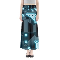 A Completely Seamless Background Design Circuitry Maxi Skirts