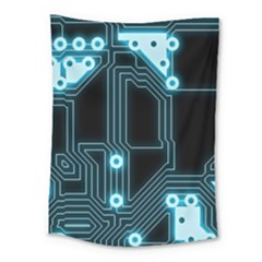 A Completely Seamless Background Design Circuitry Medium Tapestry