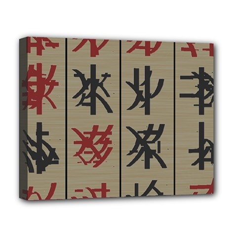 Ancient Chinese Secrets Characters Deluxe Canvas 20  X 16