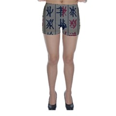 Ancient Chinese Secrets Characters Skinny Shorts