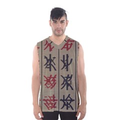 Ancient Chinese Secrets Characters Men s Basketball Tank Top