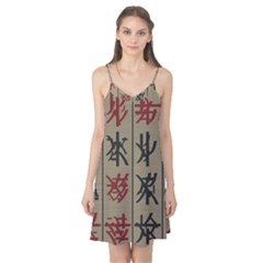 Ancient Chinese Secrets Characters Camis Nightgown