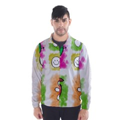 A Set Of Watercolour Icons Wind Breaker (Men)