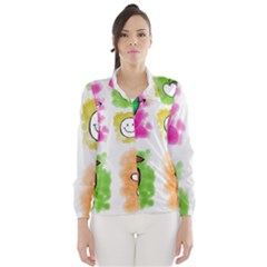 A Set Of Watercolour Icons Wind Breaker (Women)