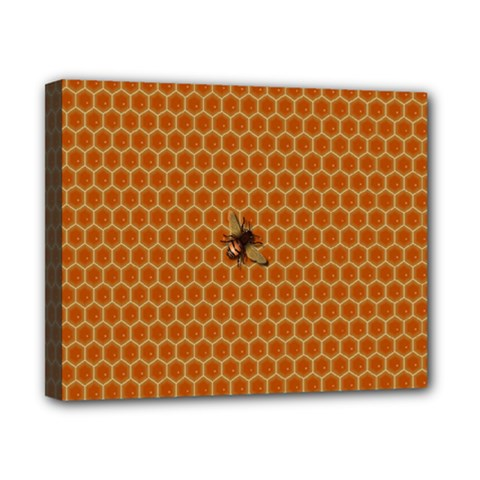 The Lonely Bee Canvas 10  X 8