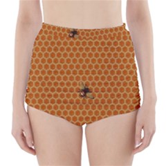 The Lonely Bee High Waisted Bikini Bottoms