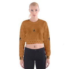 The Lonely Bee Women s Cropped Sweatshirt
