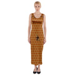 The Lonely Bee Fitted Maxi Dress