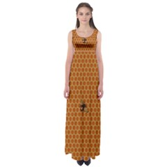 The Lonely Bee Empire Waist Maxi Dress