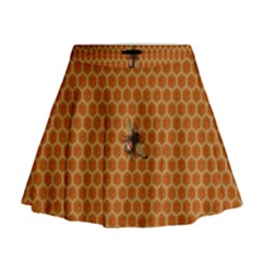 The Lonely Bee Mini Flare Skirt