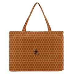 The Lonely Bee Medium Zipper Tote Bag