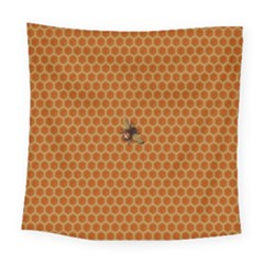 The Lonely Bee Square Tapestry (large)