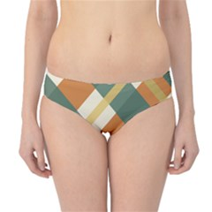 Autumn Plaid Hipster Bikini Bottoms