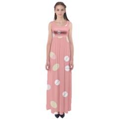Drug Pink Empire Waist Maxi Dress