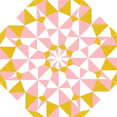 Learning Connection Circle Triangle Pink White Orange Golf Umbrellas