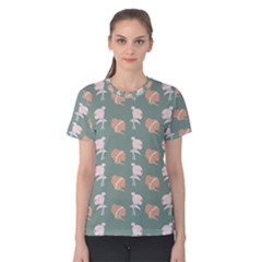 Lifestyle Repeat Girl Woman Female Women s Cotton Tee