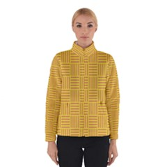 Plaid Line Orange Yellow Winterwear