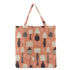 Lamps Grocery Tote Bag
