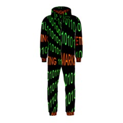 Marketing Runing Number Hooded Jumpsuit (Kids)