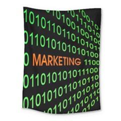 Marketing Runing Number Medium Tapestry