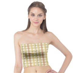 Tomboy Line Yellow Red Tube Top