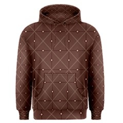 Coloured Line Squares Plaid Triangle Brown Line Chevron Men s Pullover Hoodie