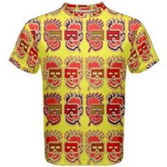 Funny Faces Men s Cotton Tee