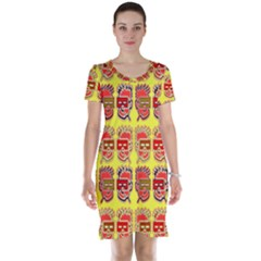 Funny Faces Short Sleeve Nightdress