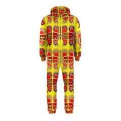 Funny Faces Hooded Jumpsuit (Kids)