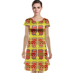 Funny Faces Cap Sleeve Nightdress