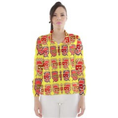 Funny Faces Wind Breaker (women)