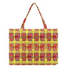 Funny Faces Medium Tote Bag