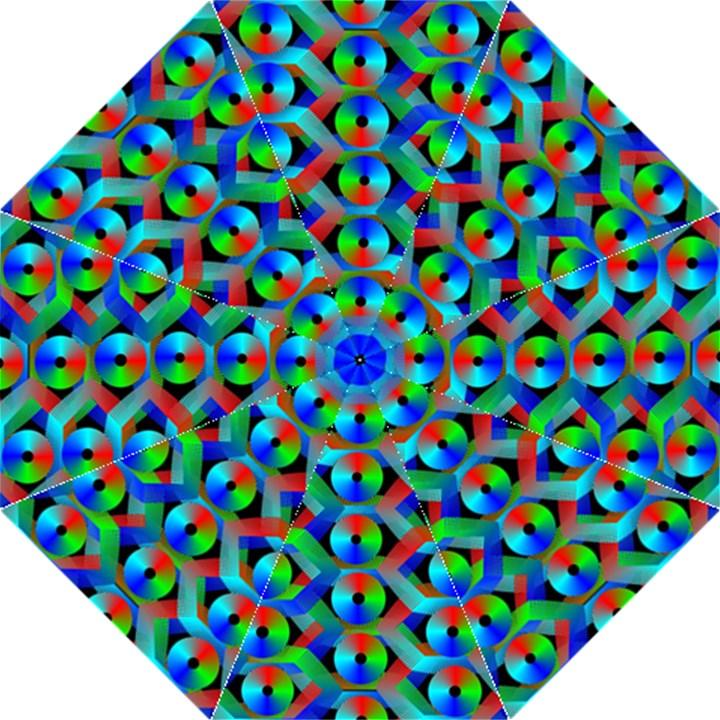 Bee Hive Color Disks Golf Umbrellas