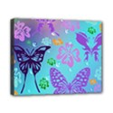 Butterfly Vector Background Canvas 10  x 8  View1
