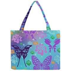Butterfly Vector Background Mini Tote Bag
